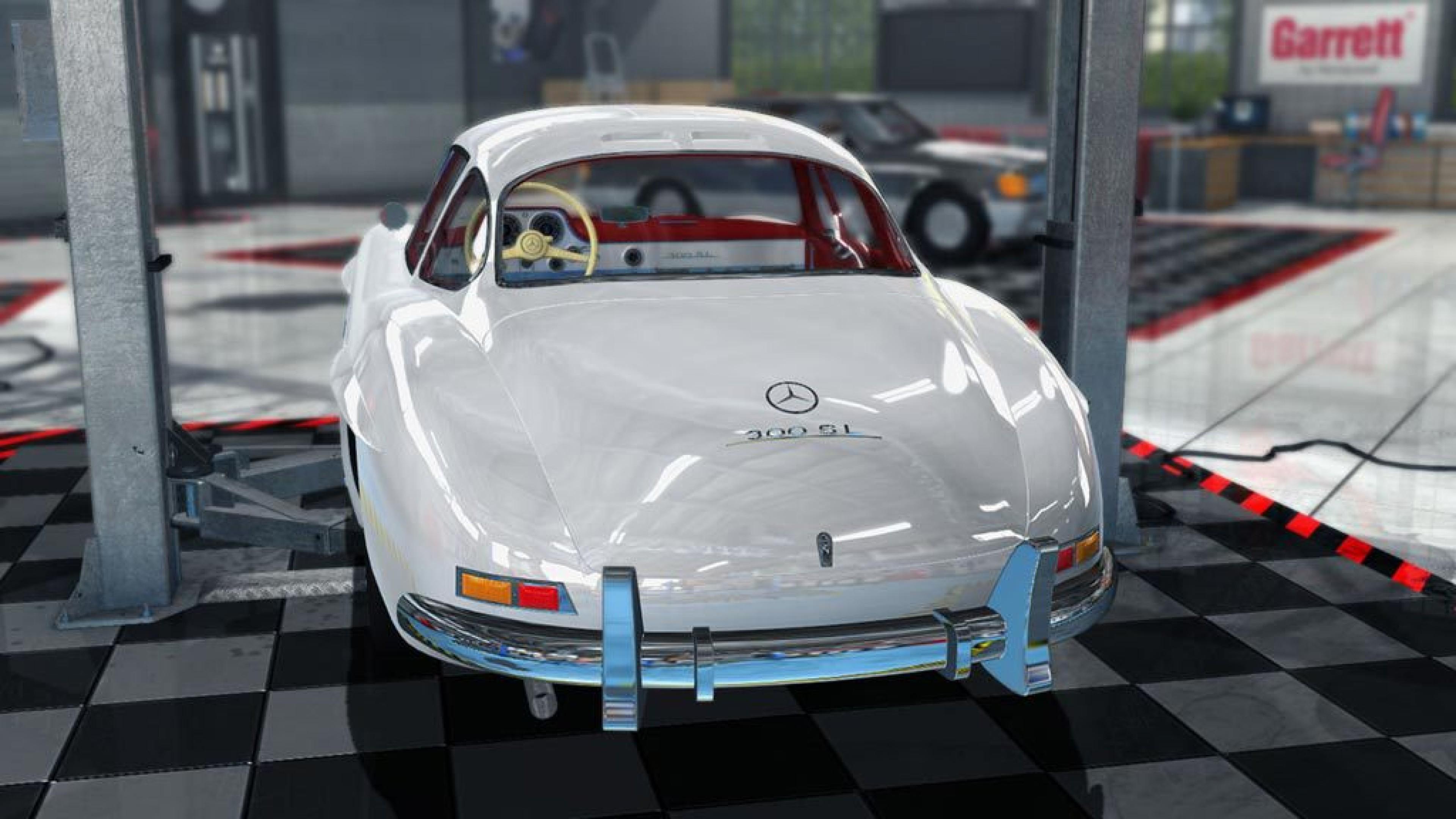 Car mechanic simulator 2015 mercedes benz dlc mac sur for Mercedes benz technician