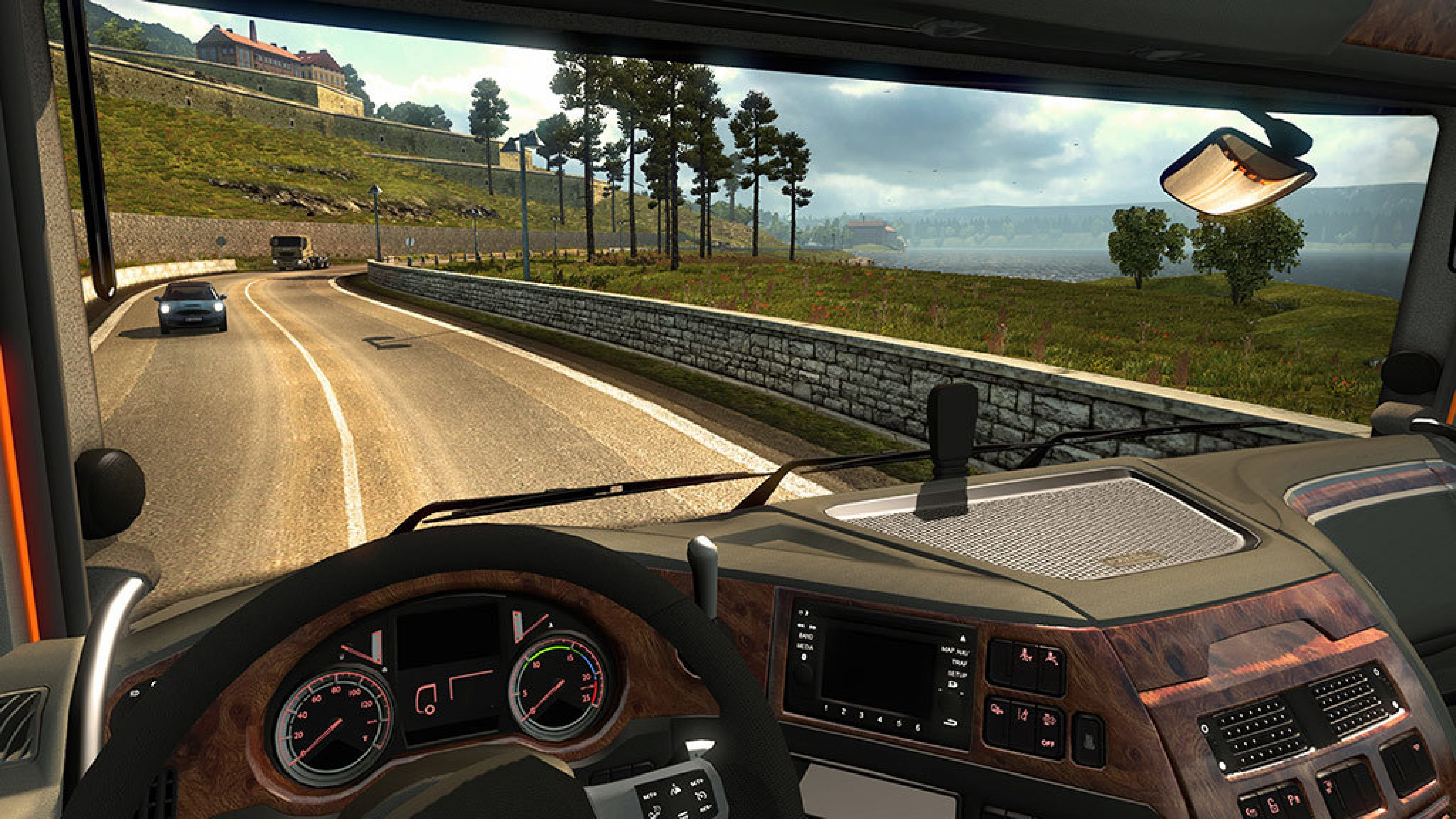 تحميل لعبة الشاحنات Euro Truck Simulator 2 للكمبيوتر برابط مباشر وحجم صغير جدا جدا