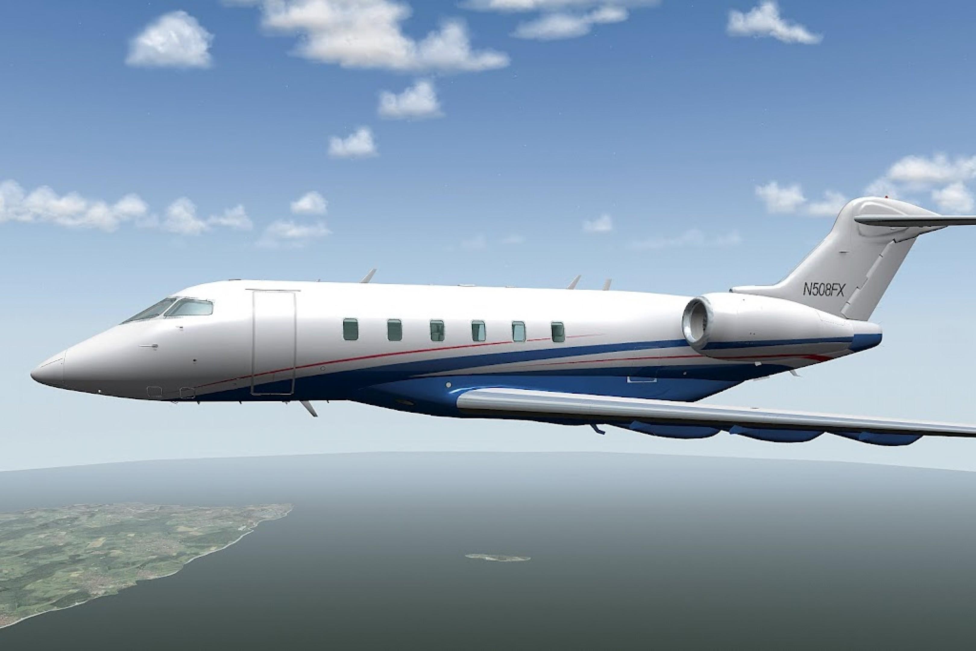 X-Plane 10 : Challenger 300 Mac sur MacGames fr