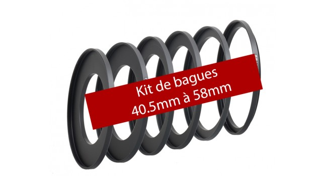 Adapter rings for K75 holder