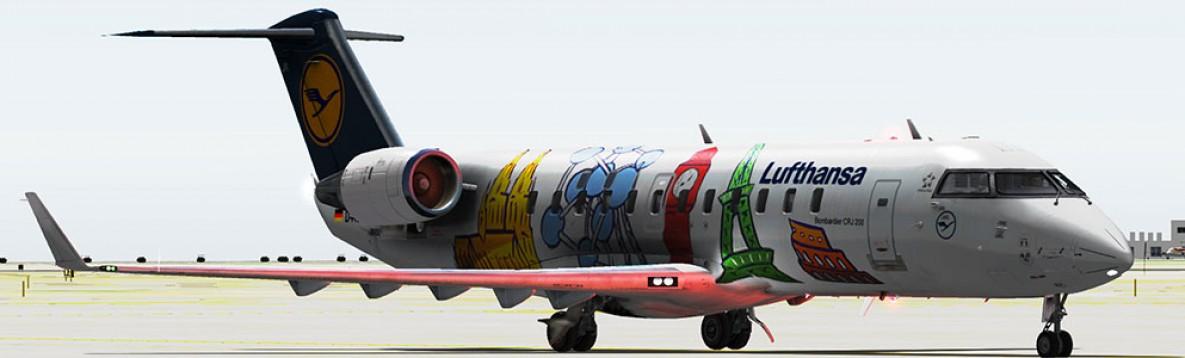 X-Plane 10 : CRJ-200 Mac