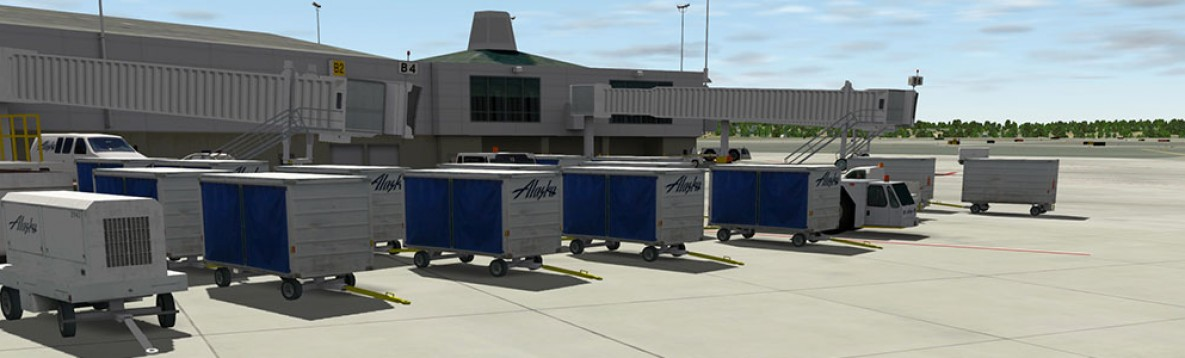 X-Plane 10/11 : Aéroport d'Anchorage Mac