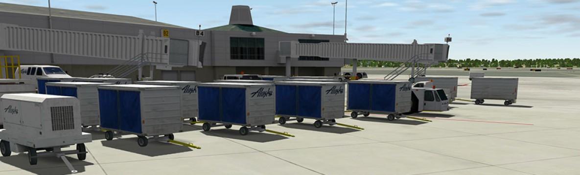 X-Plane 10/11 : Aéroport d'Anchorage Mac