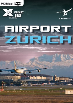 X-Plane 10 : Aéroport de Zurich Mac