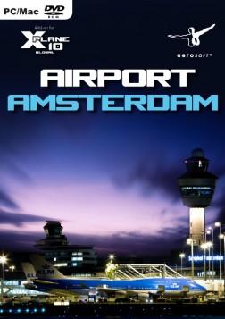 X-Plane 10/11 : Aéroport d'Amsterdam Mac