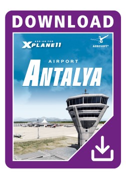 X-Plane 11 : Aéroport Antalya Mac