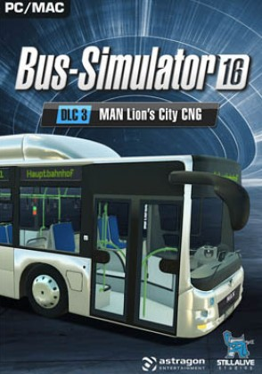 Bus Simulator 16 MAN Lion's City CNG Pack (DLC3) Mac