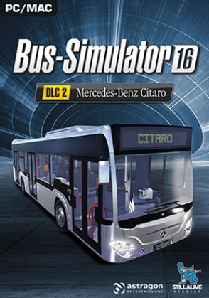 Bus Simulator 16 Mercedes-Benz-Citaro (DLC2) Mac