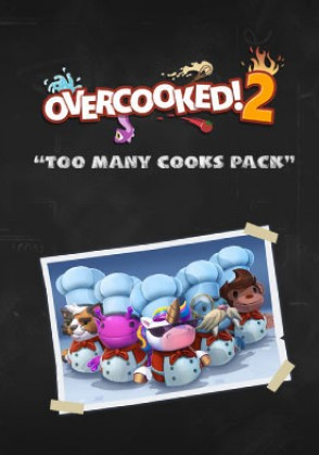 Overcooked! 2 - Too Many Cooks Pack (DLC) Mac