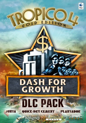 Tropico 4: Le pack DLC Dash for Growth Mac