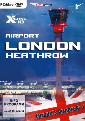 X-Plane 10/11 : Aéroport de Londres-Heathrow Mac