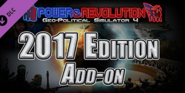 2017 Edition add-on - Power & Revolution: Geo-Political Simulator 4 (Mac) Mac