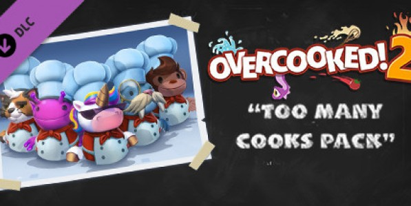 Overcooked! 2 - Too Many Cooks Pack (DLC) Mac
