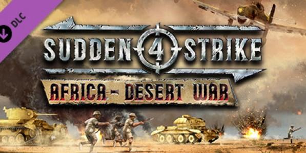 Sudden Strike 4 - Africa: Desert War (DLC) Mac