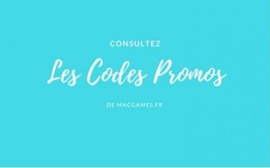 Les code promos MacGames.fr Avril 2018