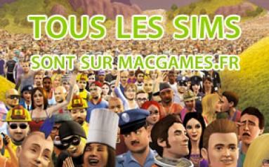Tous les Sims 3 Mac sont ici